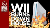 Man Says Wii Burned His House Down - GS News Update