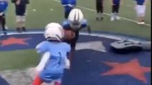 USA Football condemns viral youth football video of boy getting violently knocked over