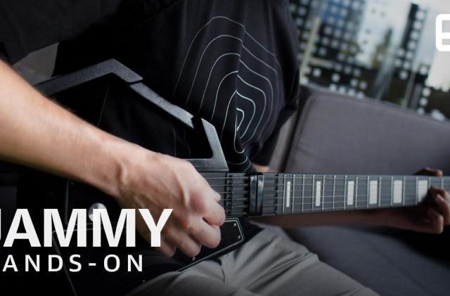 Jammy makes the practice guitar modular