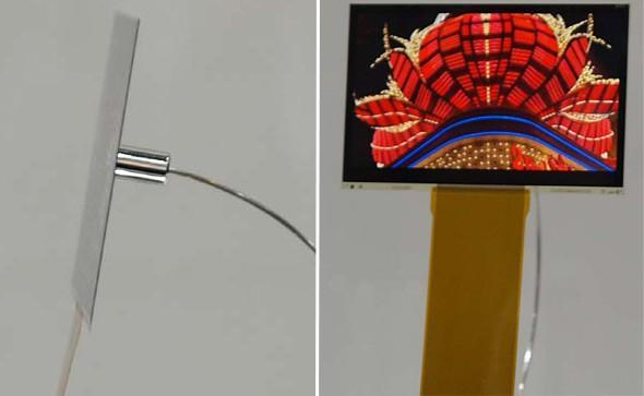Sony's 3.5- and 11-inch OLEDs are just 0.008- and 0.012-inches thin