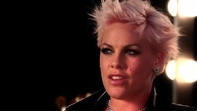 Pink becomes a CoverGirl