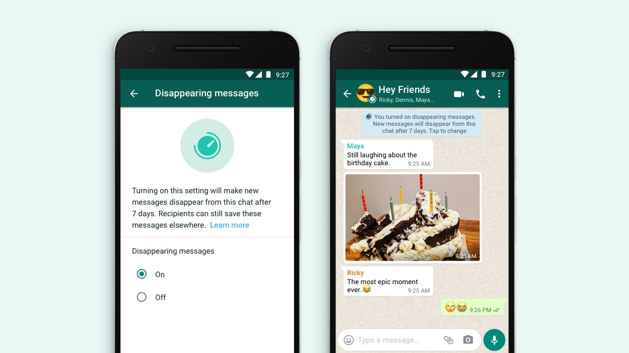 WhatsApp now lets you post ephemeral messages which disappear after 7 days – Yahoo News Australia