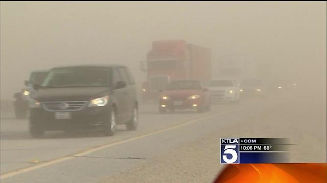 Wild Winds Kick Up Trouble in High Desert