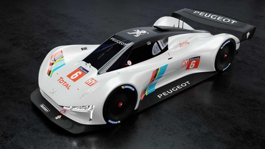 Nos imaginamos al hiperdeportivo de Peugeot para Le Mans