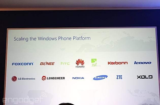 Microsoft announces new Windows Phone hardware partners, including LG and Lenovo