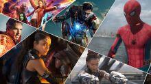 Every Marvel movie ranked via Box Office takings