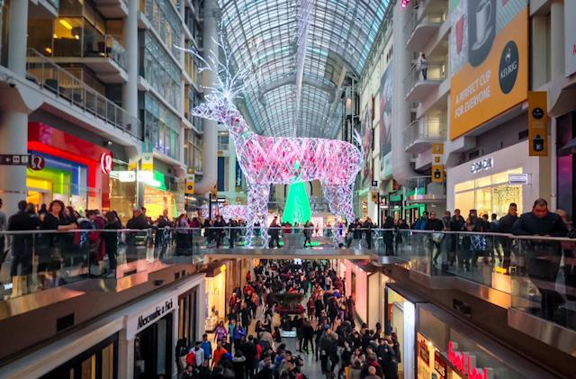 Black Friday foot traffic doesn't peak when you think it does