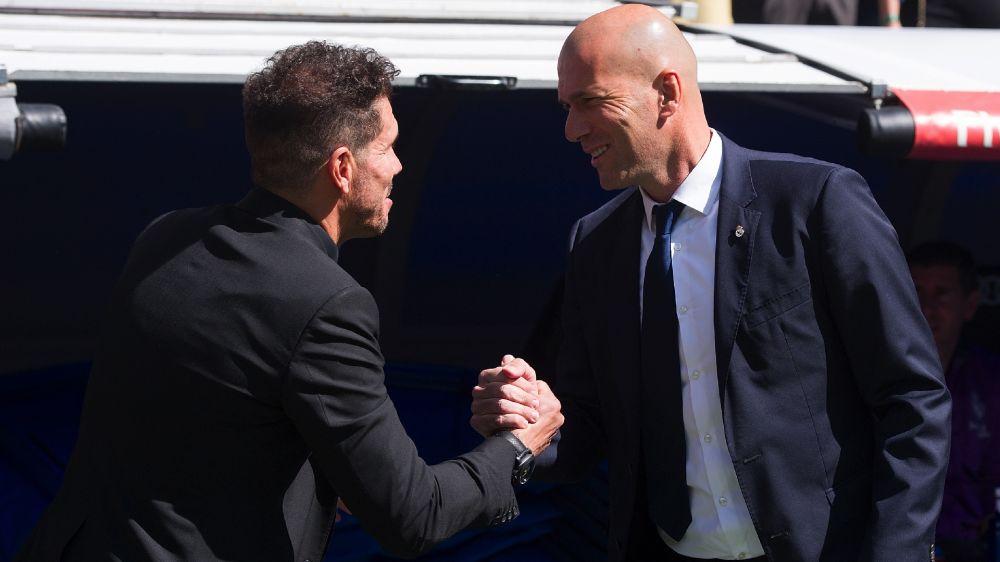 """Real Madrid, Zidane : """"Je ne peux pas dire que l'Atlético a bien joué"""""""