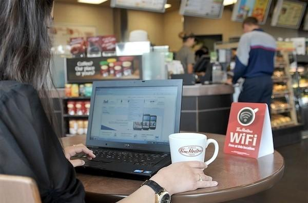 Tim Hortons bringing free WiFi to 90 percent of its locations by September