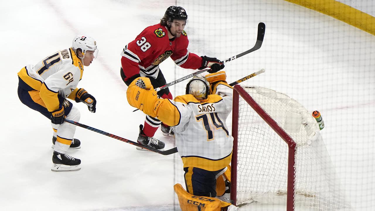10 observations: Blackhawks overcome three-goal deficit, beat Predators
