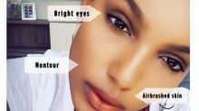 Jasmine Tookes's Trick for Airbrushed Foundation