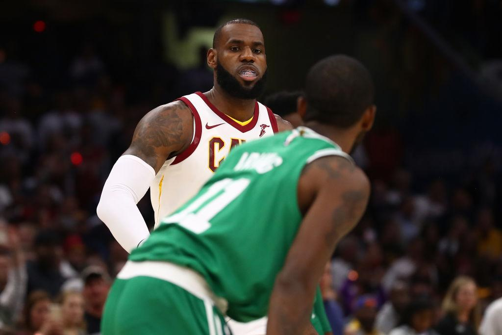 LeBron James Is Still Driving Kyrie Irving Mad
