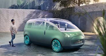 MINI發表自駕電動概念車Mini Vision Urbanaut,創造未來小車超大乘坐空間和愉悅的情境