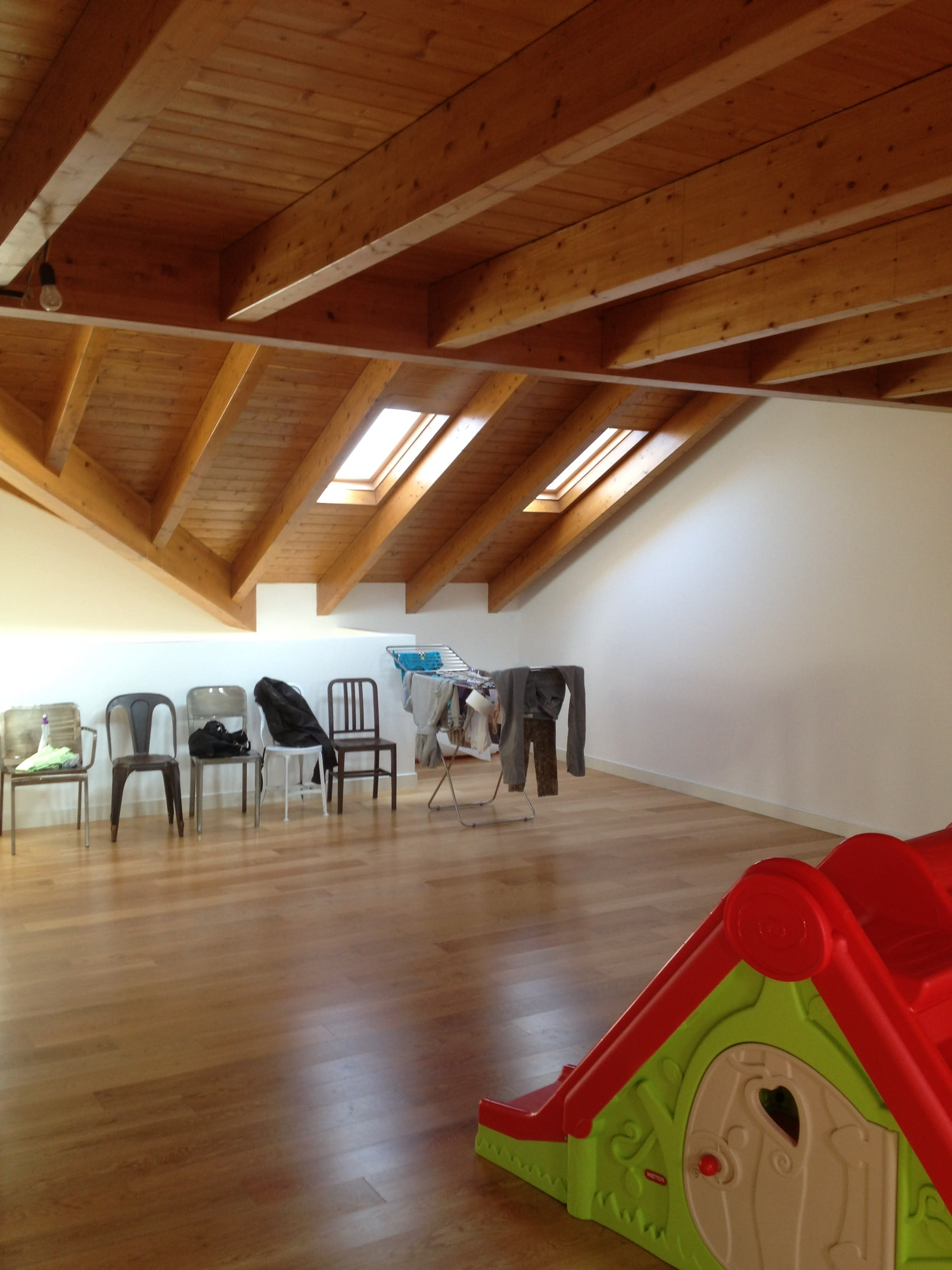 Home Design Busto Arsizio see how this unfinished attic was transformed into a
