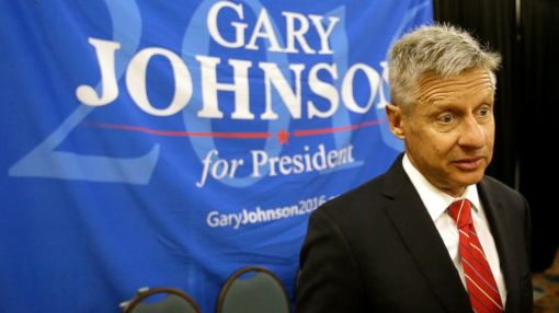 What Gary Johnson Will Be Up to When Hillary Clinton and Donald Trump Take the Debate Stage