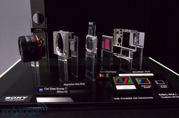 Visualized: Sony's Cyber-shot RX1 gets smashed to pieces, in a good way
