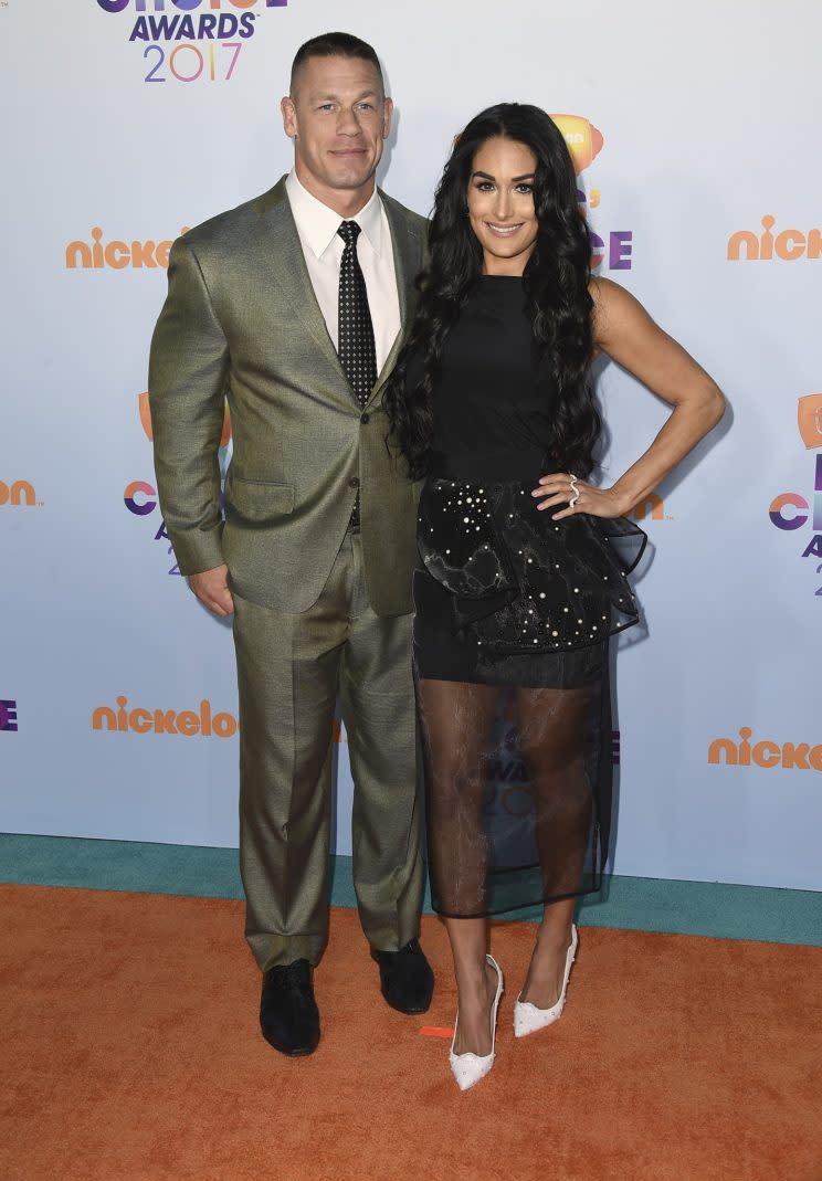 John Cena proposes to girlfriend Nikki Bella at WrestleMania 33