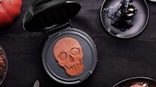This Mini Skull Waffle Maker Will Create a Frightening Breakfast for Halloween