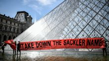 Louvre Removes Name Of OxyContin's Sackler Family From Museum Walls