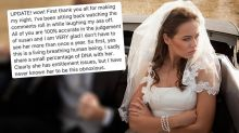 Ranting bride's family relish reaction to her expletive-ridden post