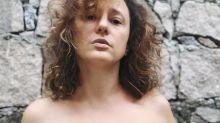Paula Braun, de topless, fala sobre feminismo e liberdade do corpo