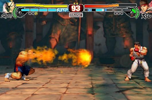 iPhone Street Fighter IV on sale for $0.99, sales go to earthquake relief