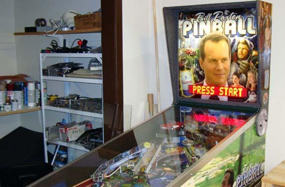 Ben Heck completes the Bill Paxton Pinball machine, reasserts supremacy