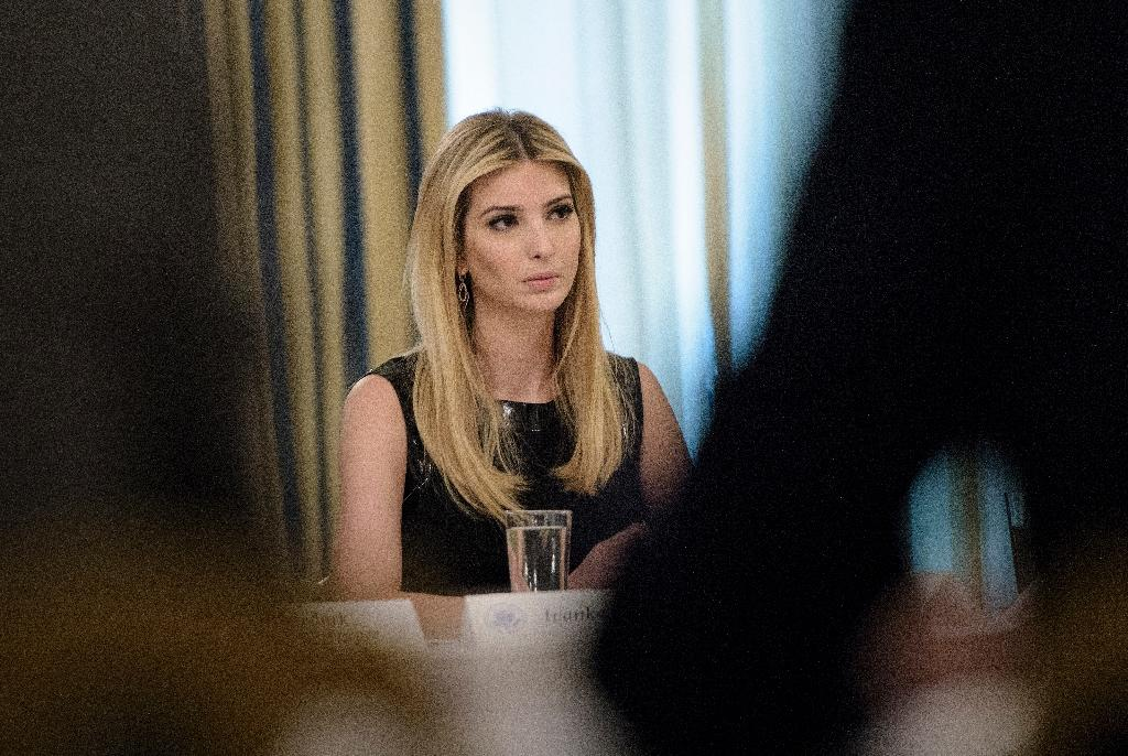 """Ivanka Trump, pictured on February 3, 2017, will have her clothing line removed from Nordstrom and President Trump believes she's been """"treated so unfairly"""" (AFP Photo/Brendan Smialowski)"""
