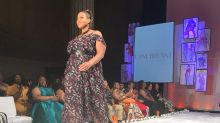 Plus-size and curvy models are front and center at this fashion week