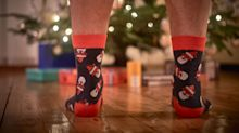 Get the last laugh this holiday season with these novelty socks