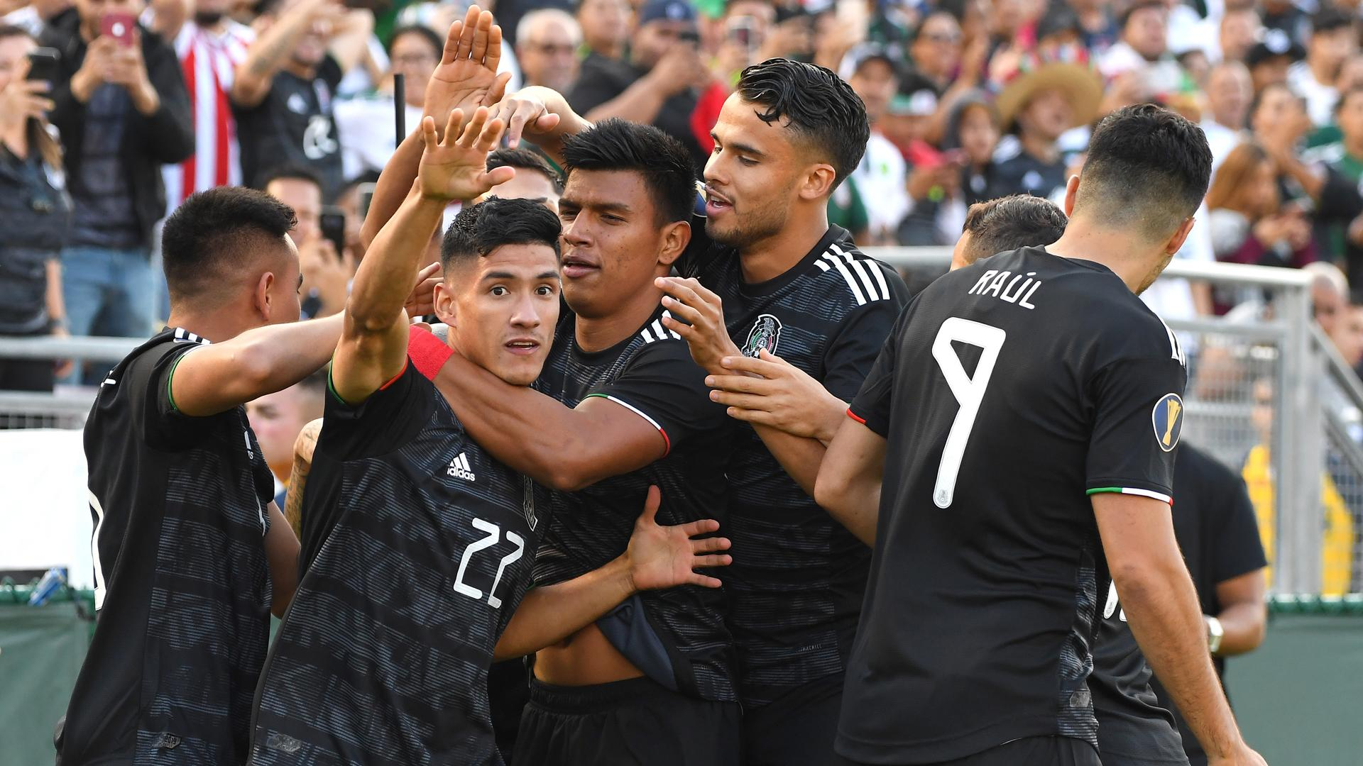 Mexico 7 Cuba 0: Antuna scores hat-trick in Gold Cup rout