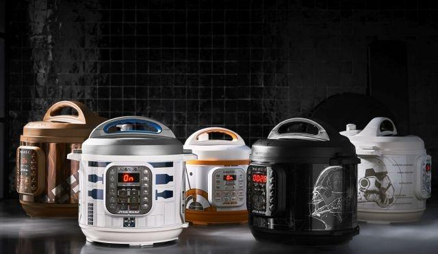 Instant Pot launches collection of Star Wars-themed pressure cookers