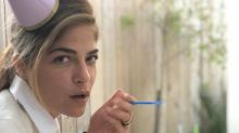 Selma Blair marks two years of sobriety