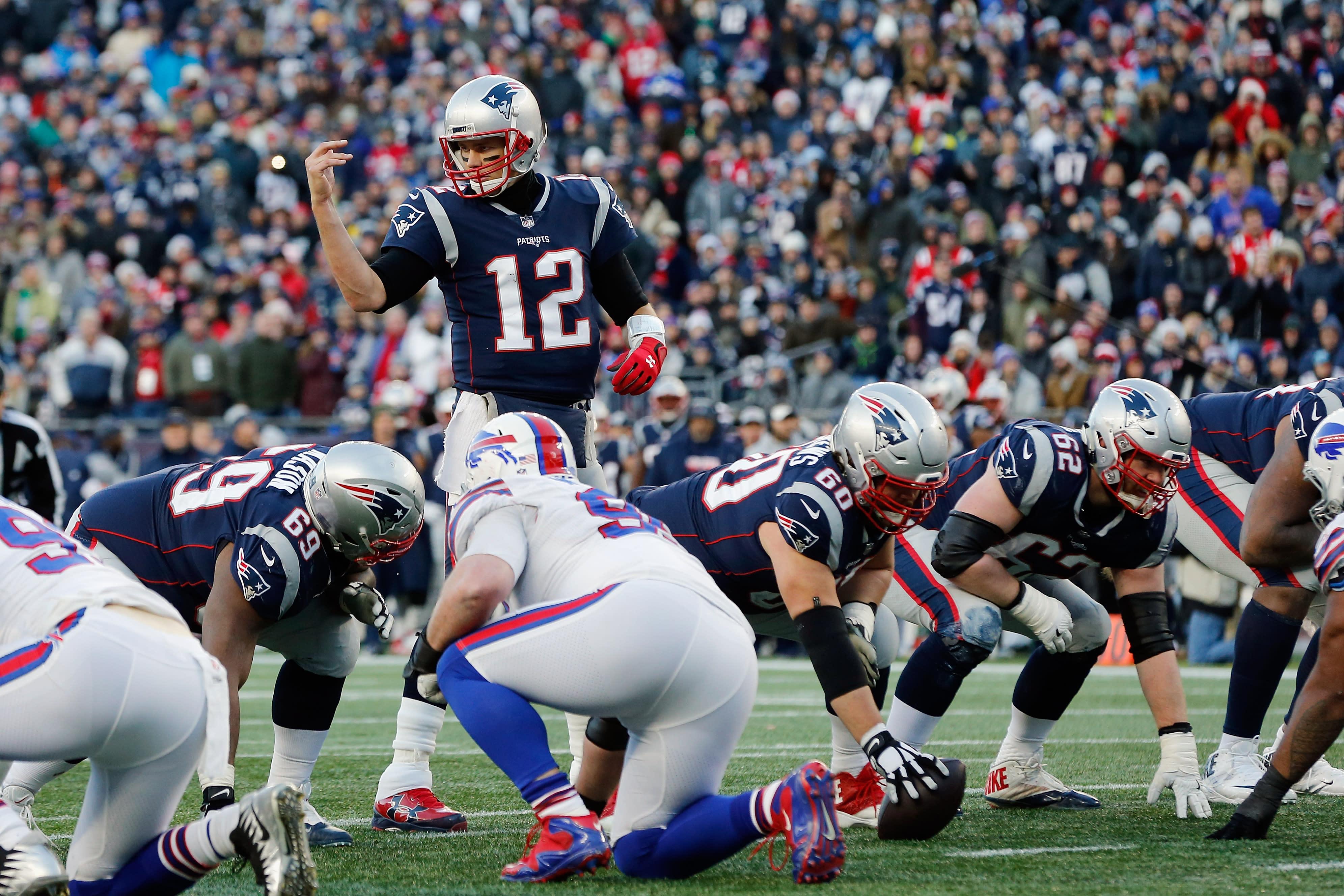 Bills worried flying dildo could hurt Tom Brady, Josh Allen