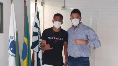 Campeão da Copa do Brasil Sub-20, Pedro Arthur assina primeiro contrato profissional