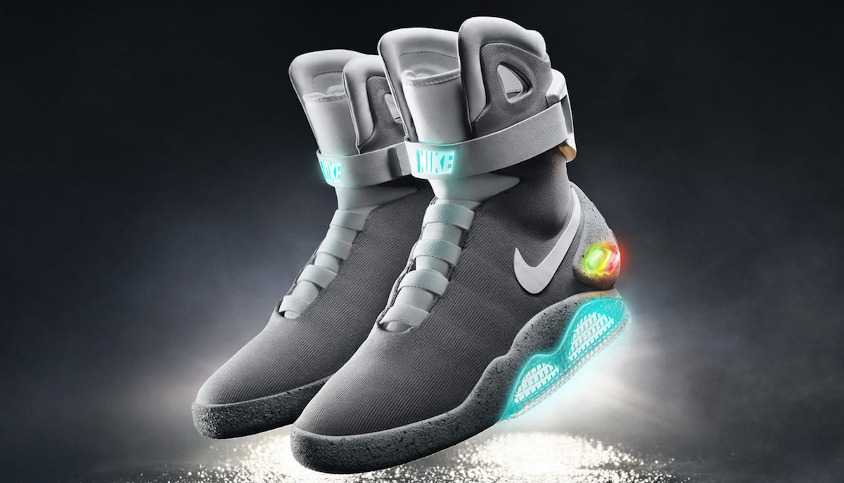 Future' shoes arrive in 2016 | Engadget