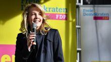 Auf Wahlkampftour mit FDP-Generalsekretärin Linda Teuteberg