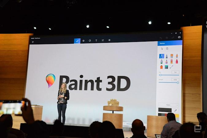 The new Microsoft Paint lets you share terrible 3D doodles