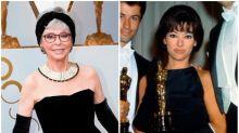 Rita Moreno recicla el vestido de los Premios Oscar 1962