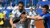 Zlatan Ibrahimovic expulsé pour avoir frappé un adversaire