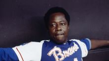 Hank Aaron celebrated as hero and icon in outpouring of remembrances on social media