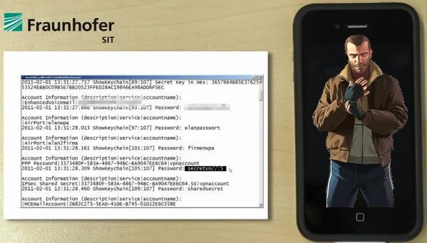 Researchers steal iPhone passwords in six minutes (video)