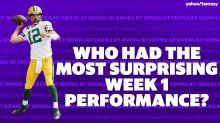 Most surprising Week 1 performances   FFSK