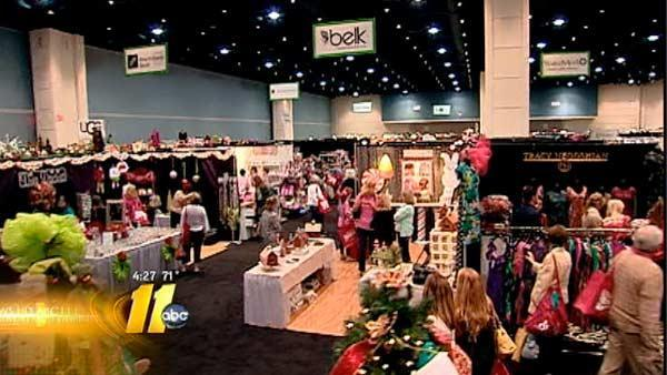 Shopping for a cause at Raleigh Convention Center