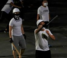 Anger in Hong Kong over 'triad attack' on anti-government protesters