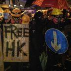 PHOTOS: Violent pro-democracy protests continue to rock Hong Kong
