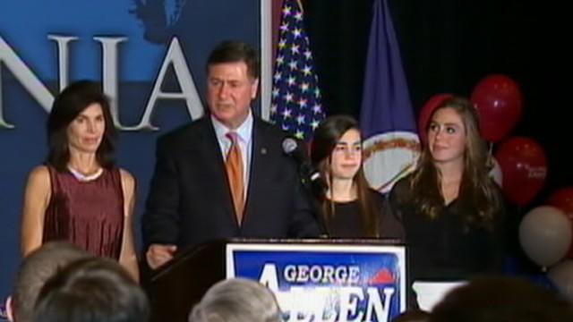 Election 2012: George Allen 'Not Happy With the Results'