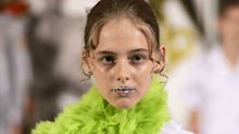 Are glitter lips just for the catwalk?