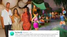Kim Kardashian's Tweet on Celebrating Birthday on Private Island With Friends is Now an Internet Meme
