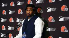 Browns' Garrett vows to not let 'one moment' define him